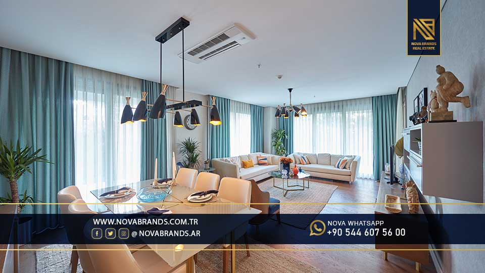 Apartments in Maslak Istanbul