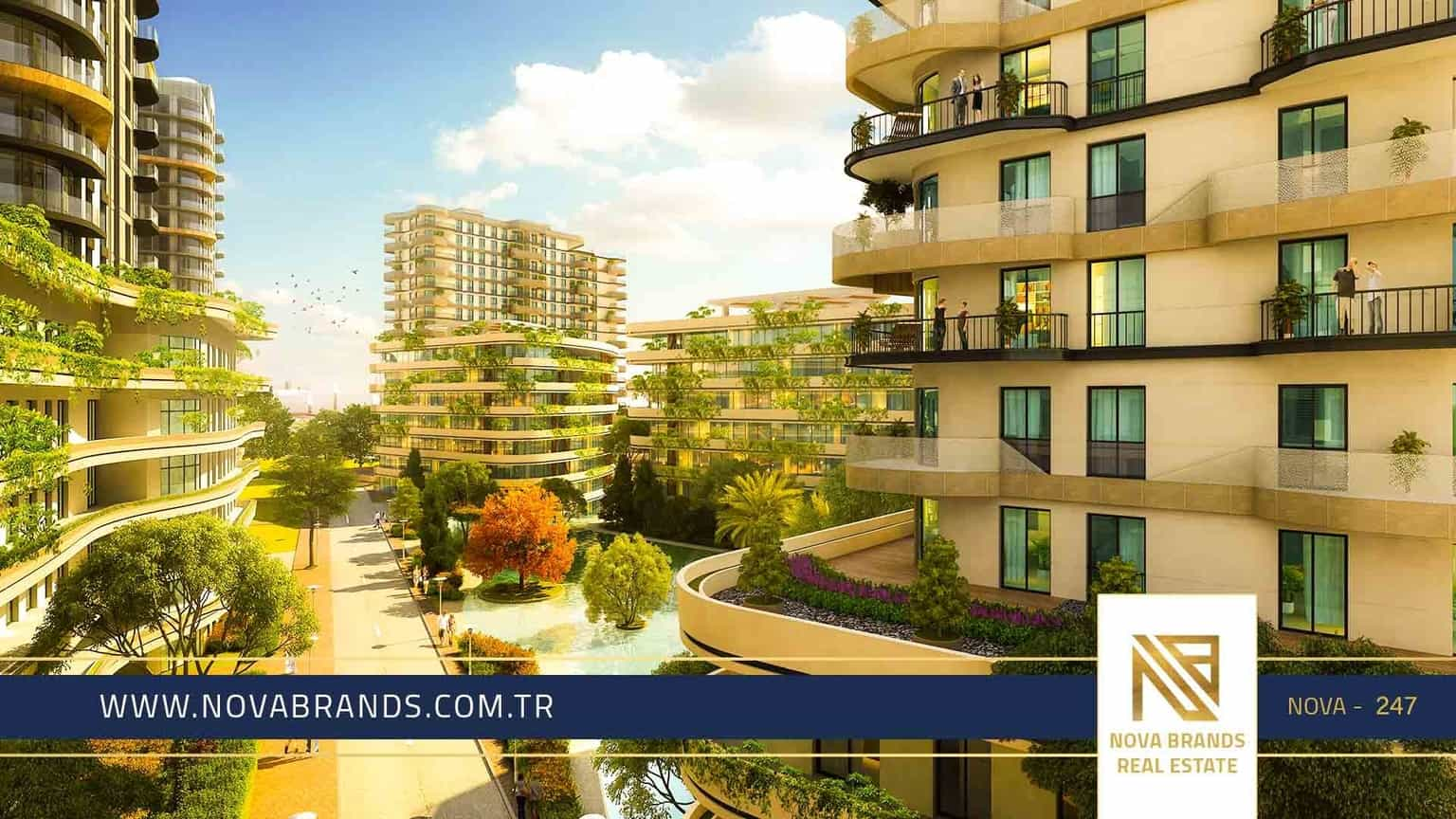 A very high-end project in Bahçelievler Istanbul