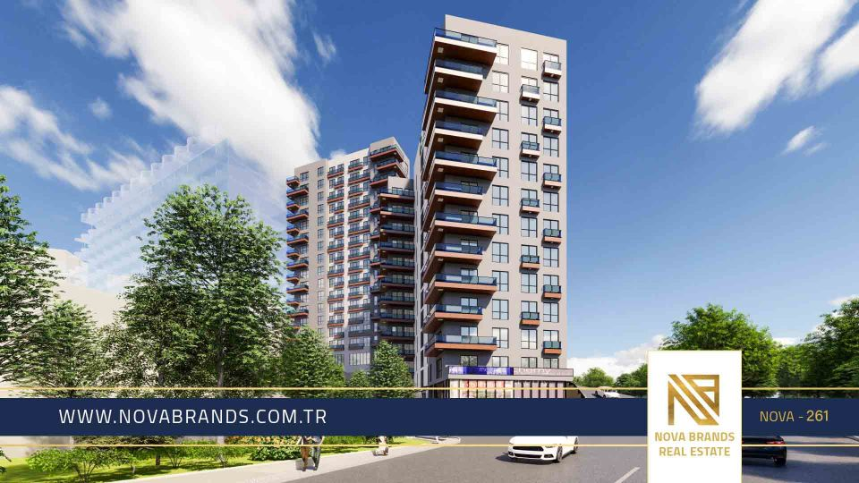 An investment project in the upscale center of Istanbul