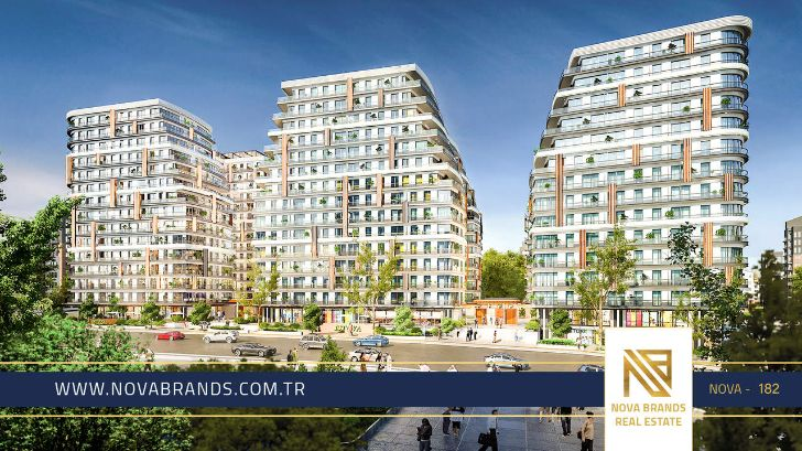 Real estate project in the most beautiful areas of Istanbul