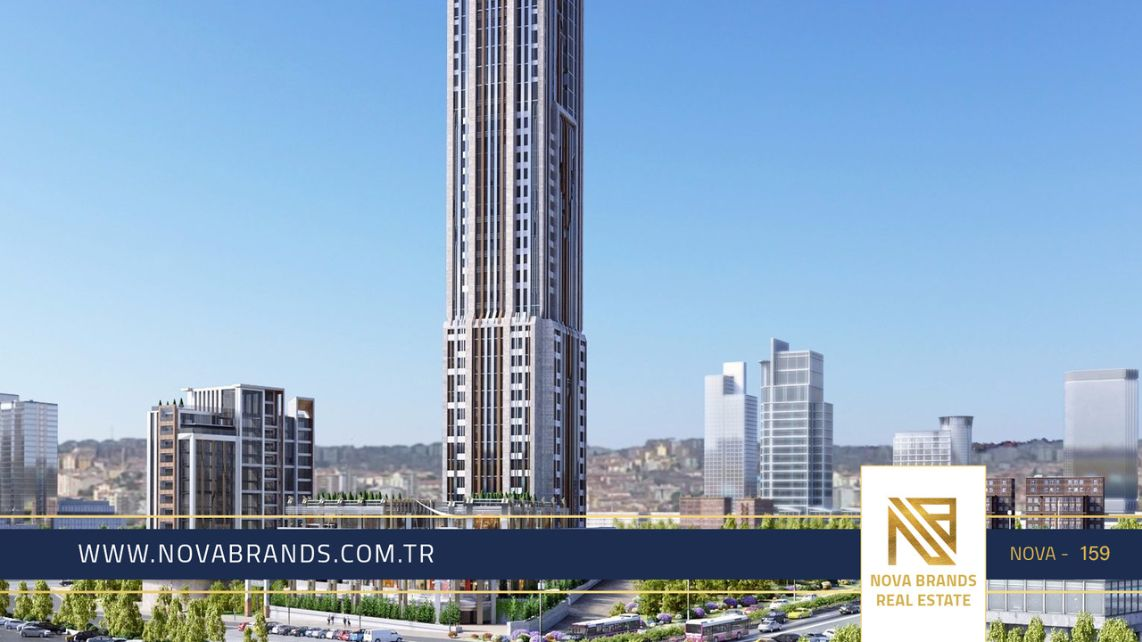 Two investment tower project in Esenyurt