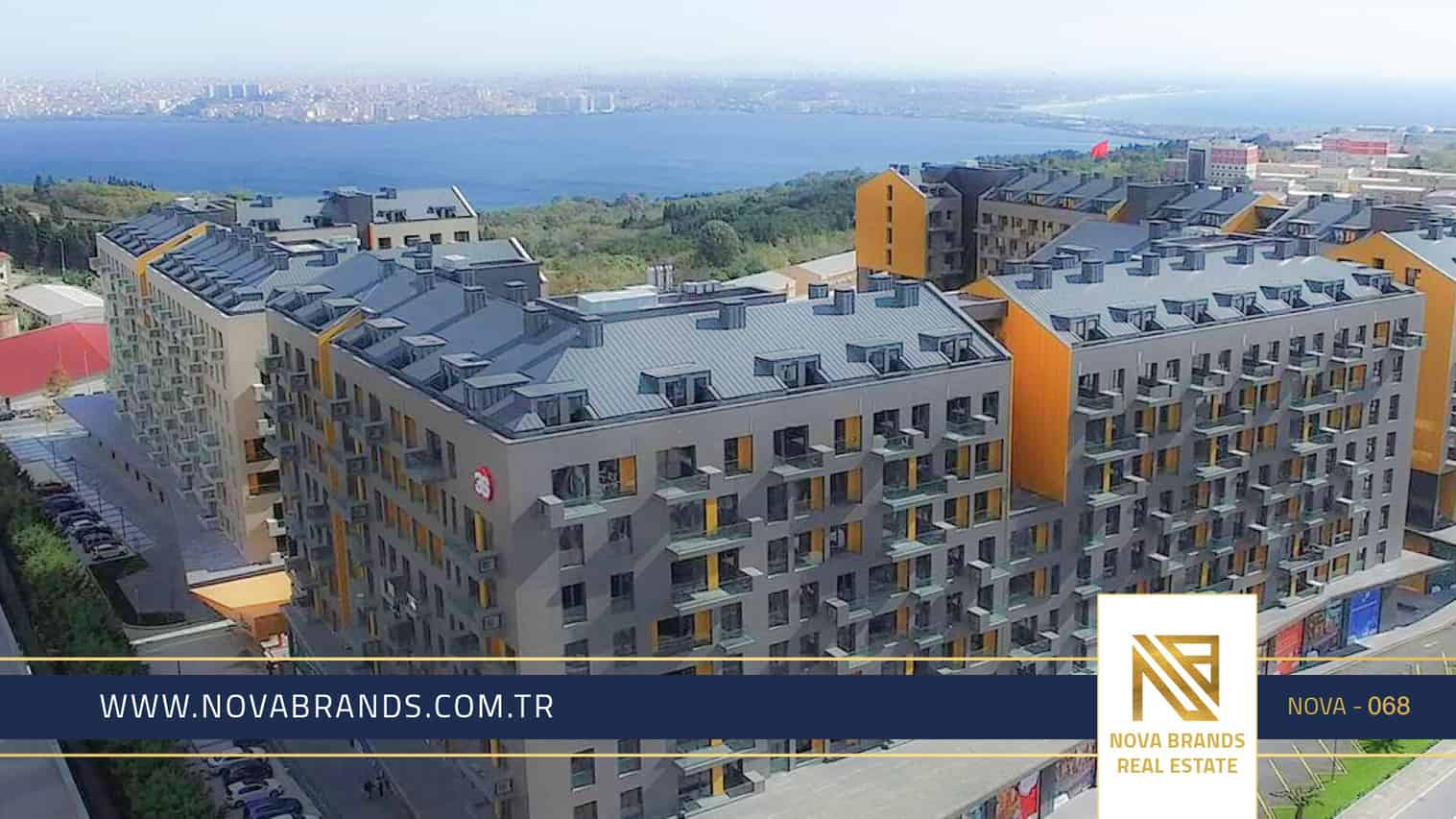 Own an apartment in Istanbul in the distinctive Avcilar real estate complex