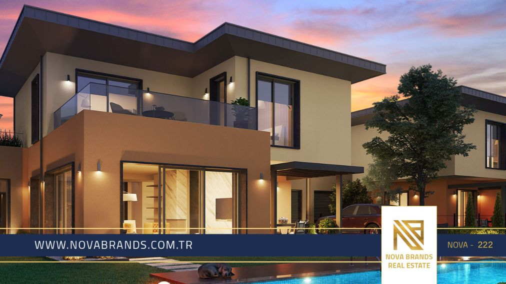 The most luxurious villa project in European Istanbul