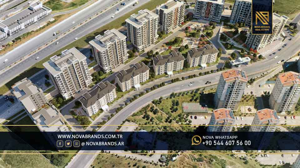 A complex of the most prestigious projects of Basaksehir