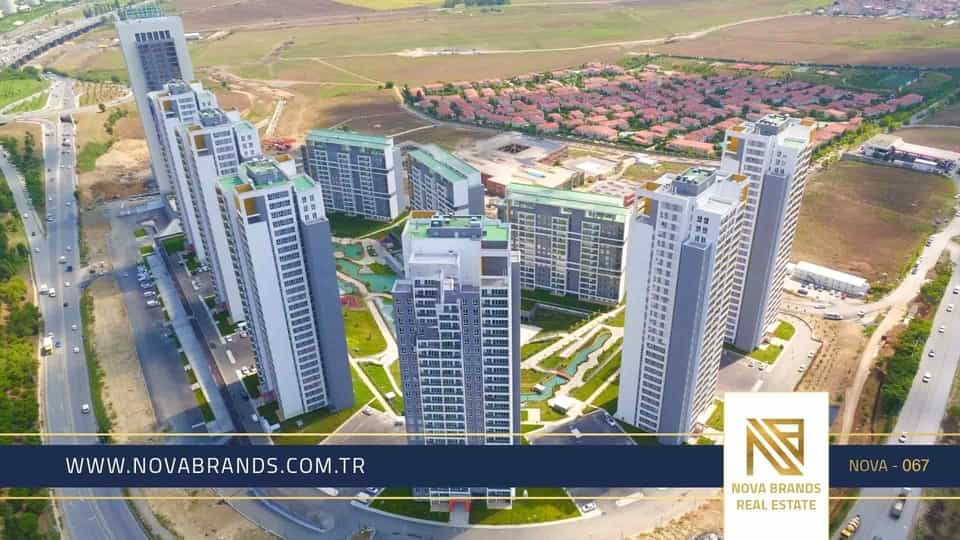 Own an apartment in Istanbul in the Bahcesehir project and enjoy a luxurious and beautiful life